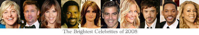 2008 Brightest Celebrities
