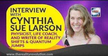 Brian Scott Interviews Cynthia Sue Larson