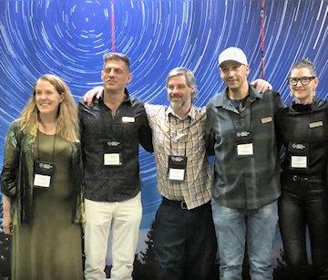 Cynthia Sue Larson, Christopher Anatra, Jerry Hicks, Shane Robinson, and Kimberly-Lynn Hanson