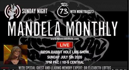 Ripon Rabbit Mandela Monthly with Evan Matraia and Elizabeth Loftus
