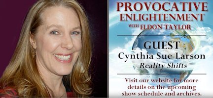 Eldon Taylor interviews Cynthia Sue Larson