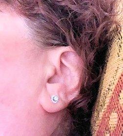 Aynne McAvoy's earrings