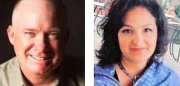 Bill McKenna and Liz Larson