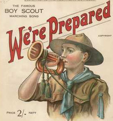 Boy Scouts song We're Prepared