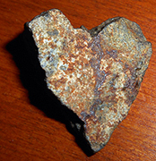 Cynthia Sue Larson's heart-shaped rock