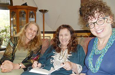 """Cynthia Sue Larson, Jean Houston, and Cheri Steinkellner""""><font size="""