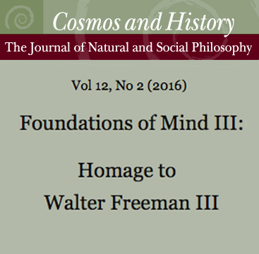 Foundations of Mind III: Homage to Walter Freeman III