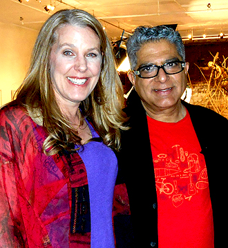 Cynthia Sue Larson and Deepak Chopra