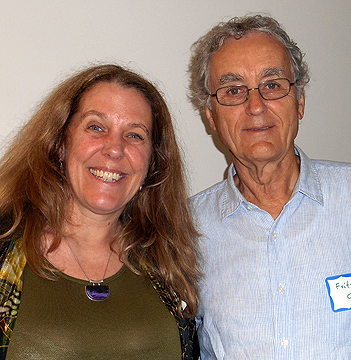 Cynthia Sue Larson with Fritjof Capra