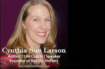 Cynthia Sue Larson on Sandie Sedgbeer's No BS Spiritual Book Club