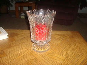 Leaded Candle Holder