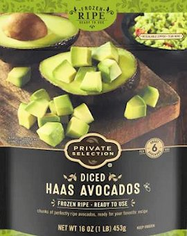 Can of Haas avacado at Fred Meyer