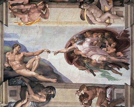 Michelangelo Creation of Adam