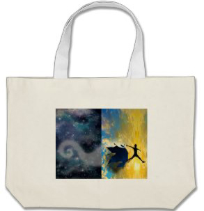 Quantum Jumps tote bag