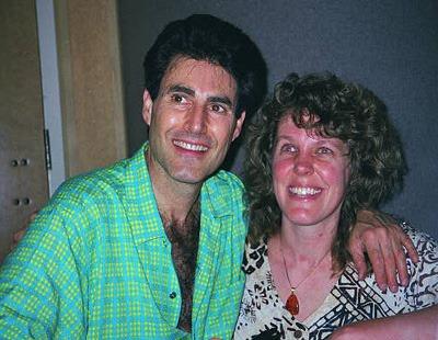 Uri Geller and Cynthia Sue Larson