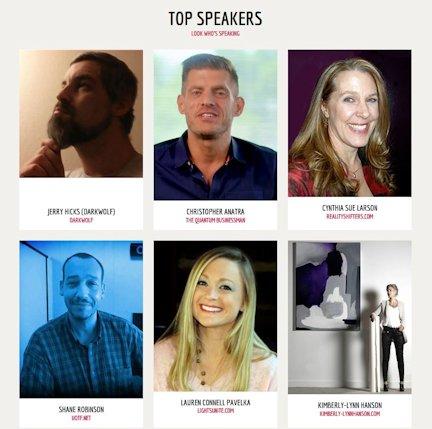 West Coast Mandela Effect conference speakers