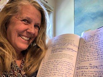 Cynthia Sue Larson editing next book