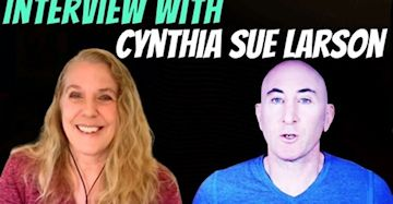 Cynthia Sue Larson with Chad on Open Your Reality