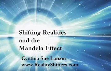 Shifting Realities and the Mandela Effect