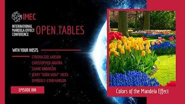 IMEC Open Tables: Colors of the Mandela Effect