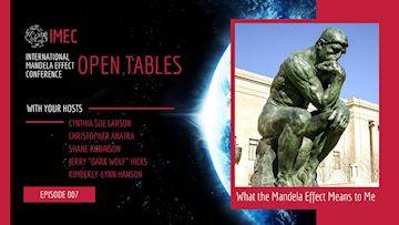 IMEC Open Tables: What the Mandela Effect Means to Me