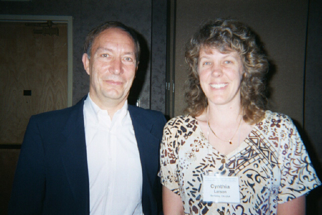 Peter Russell and Cynthia Sue Larson